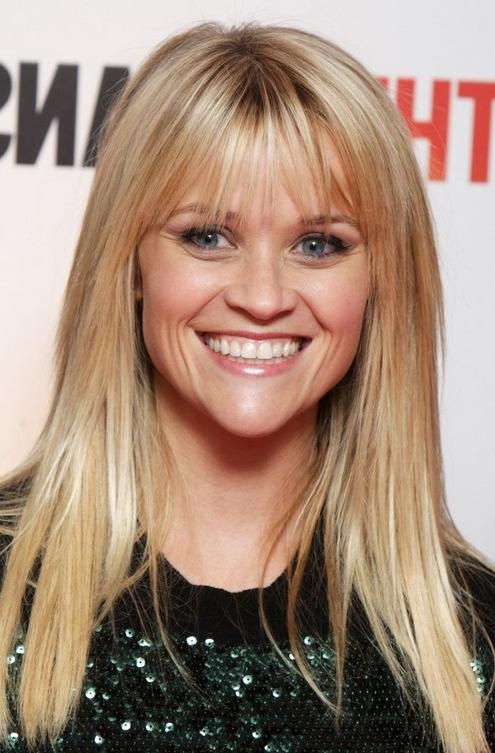 Reese Witherspoon Long Hairstyle: Wispy Bangs – Pretty Designs In Long Hairstyles Reese Witherspoon (View 11 of 15)