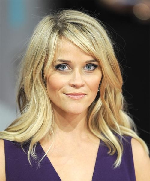 Reese Witherspoon Long Straight Casual Hairstyle – Light Blonde For Long Hairstyles Reese Witherspoon (View 13 of 15)