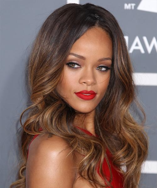 Rihanna Hairstyles For 2017 | Celebrity Hairstyles For Long Hairstyles Rihanna (View 11 of 15)