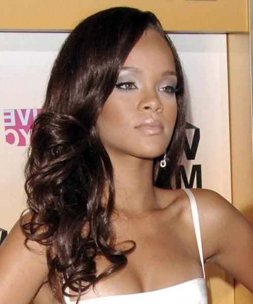 Rihanna Hairstyles For 2017 | Celebrity Hairstyles For Long Hairstyles Rihanna (View 10 of 15)