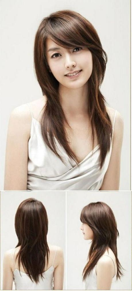 Short Medium Length Long Layered Asian Hairstyles Asian Long Pertaining To Long Layered Hairstyles Korean (View 12 of 15)