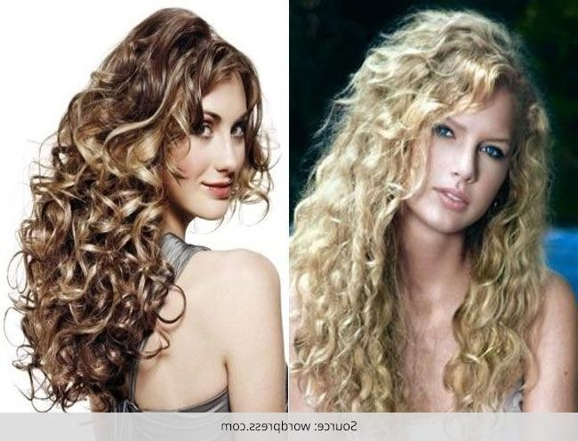 Spiral Perm Hairstyles ~ Hair Is Our Crown Pertaining To Long Hairstyles Permed Hair (View 7 of 15)