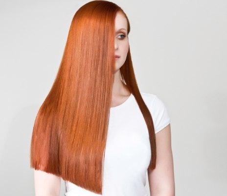 Stepstep Guide On How To Cut A One Length Long Haircut And Regarding Long Hairstyles One Length (View 8 of 15)
