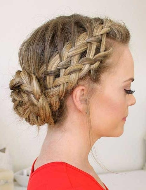 Stunning Braided Hairstyles For Long Hair Pertaining To Up Do Hair Styles For Long Hair (View 11 of 15)