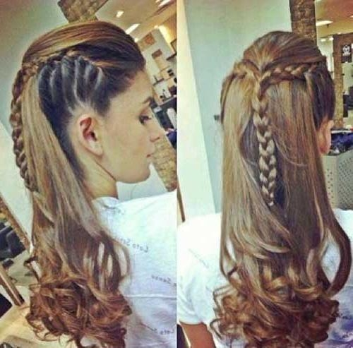 Stunning Braided Hairstyles For Long Hair Within Long Hairstyles With Braids (View 8 of 15)