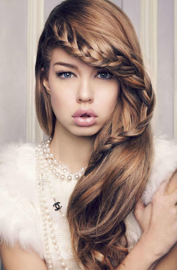 Stunning Cute Hairstyle For Thin Hair Images Best Hairstyles In Throughout Long