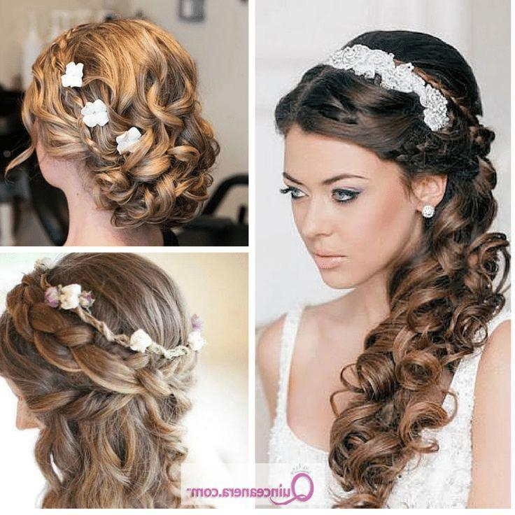 Stunning Hairstyles For Quinceaneras Contemporary – Unique Wedding With Regard To Long Curly Quinceanera Hairstyles (View 9 of 15)