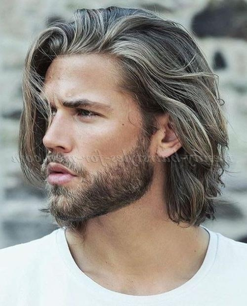 Stunning Medium Long Hairstyles For Guys Photos – Best Hairstyles With Medium Long Hairstyles For Guys (View 15 of 15)