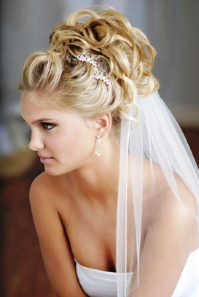 Stunning Wedding Hairstyles With Veils Contemporary – Best Pertaining To Long Hairstyles Veils Wedding (View 8 of 15)