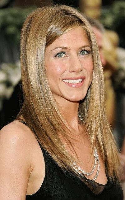 Stylish Celebrity Layered Haircuts | New Haircuts To Try For 2017 In Long Layered Hairstyles Jennifer Aniston (View 14 of 15)