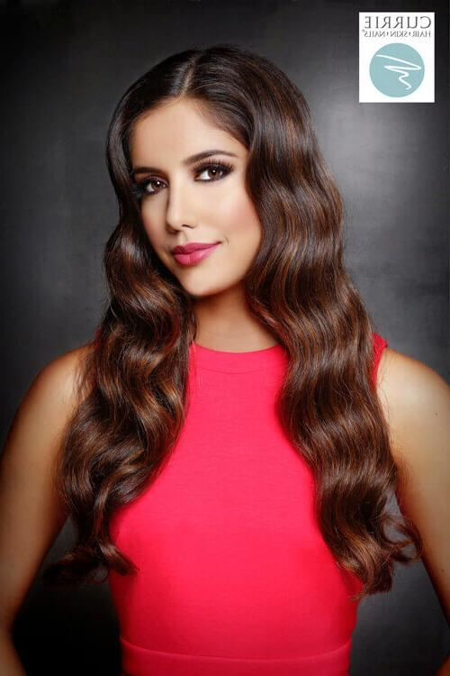 Tackle It: 30 Perfect Hairstyles For Thick Hair Intended For Long Hairstyles Thick Hair (View 9 of 15)
