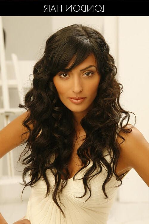 Tackle It: 30 Perfect Hairstyles For Thick Hair Regarding Long Hairstyles For Women With Thick Hair (View 13 of 15)