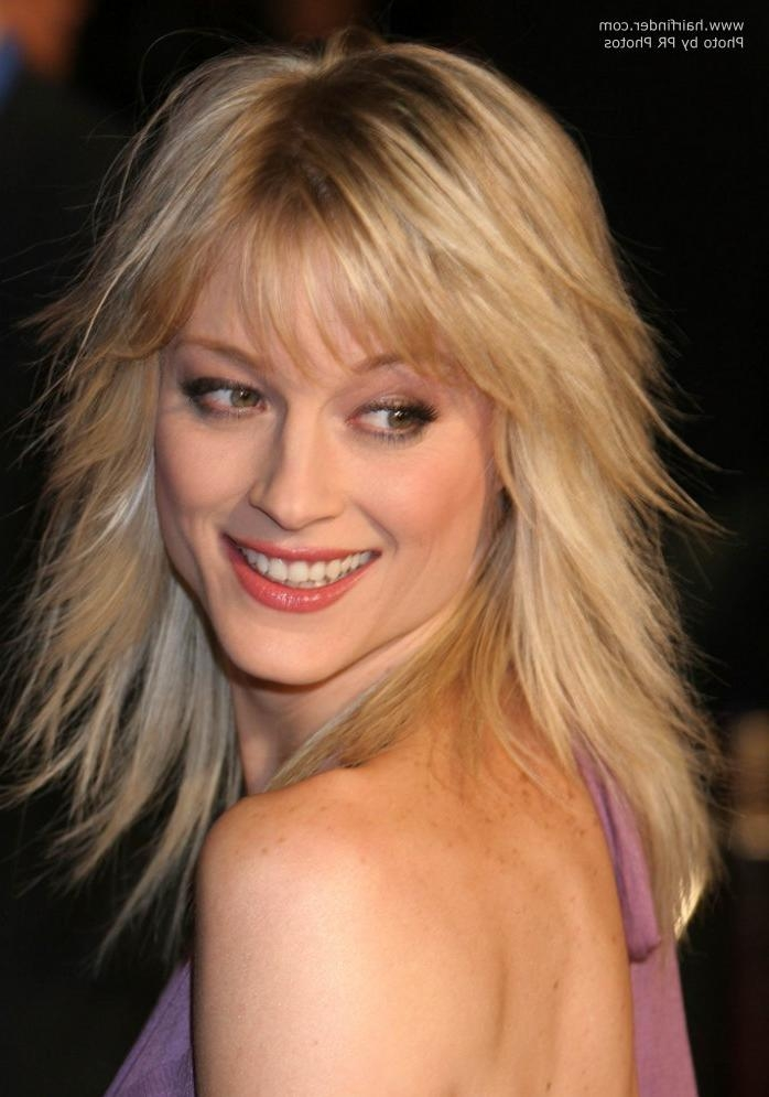 Teri Polo | Long Straightened Hair And Long Hair With Jagged Intended For Long Jagged Hairstyles (View 15 of 15)