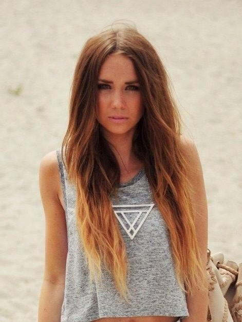 styles of dying hair 15 photo of hairstyles dip dye 9380