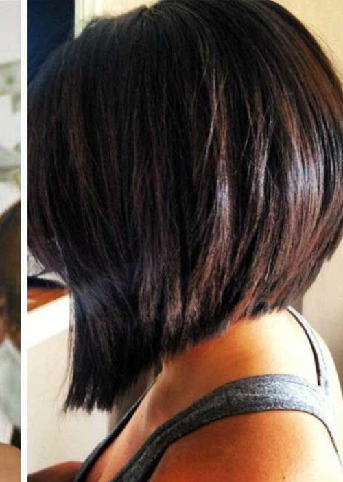 The 25+ Best Bob Back View Ideas On Pinterest | Long Bob Back For Long Inverted Bob Back View Hairstyles (View 14 of 15)