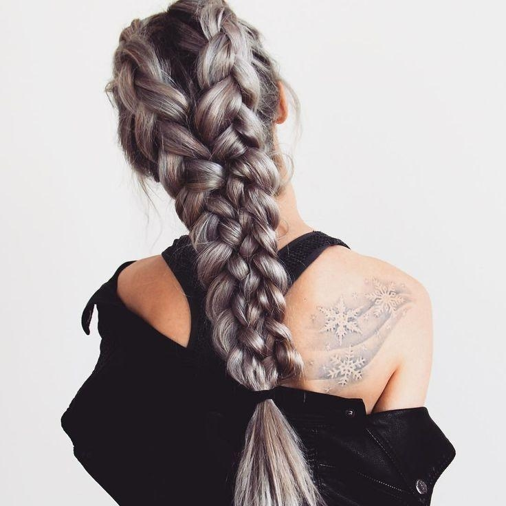 The 25+ Best Braids For Long Hair Ideas On Pinterest | Diy Hair Intended For Braids For Long Thick Hair (View 14 of 15)