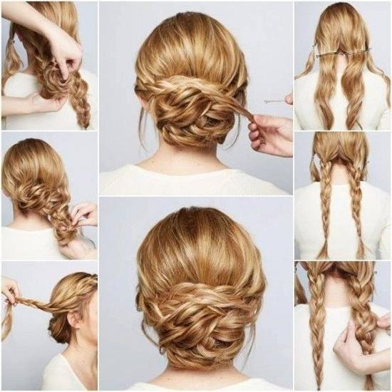 The 25+ Best Easy Formal Hairstyles Ideas On Pinterest | Simple Throughout Long Hairstyles Do It Yourself (View 15 of 15)