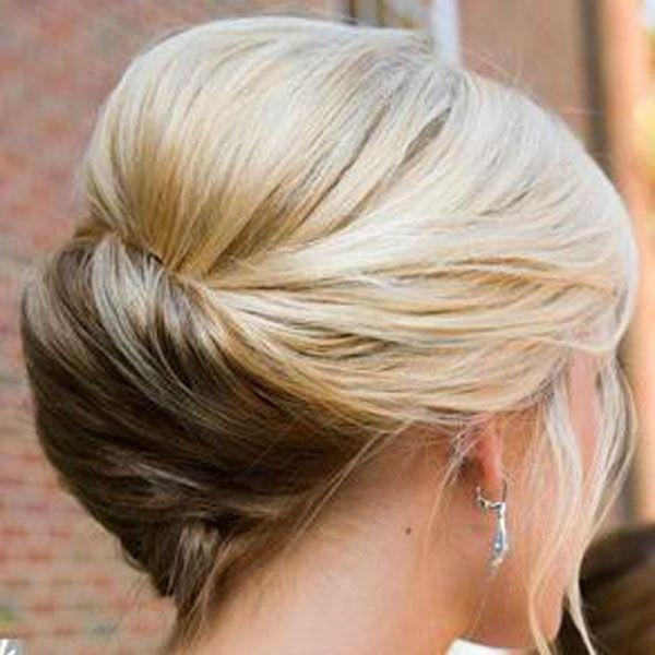 The 25+ Best Fine Hair Updo Ideas On Pinterest | Updos For Fine In Wedding Updos For Long Thin Hair (View 9 of 15)