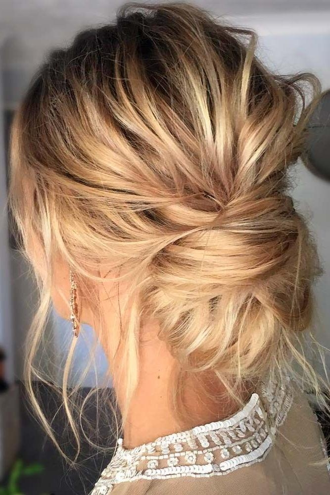 Photo Gallery Of Wedding Updos For Long Thin Hair Viewing