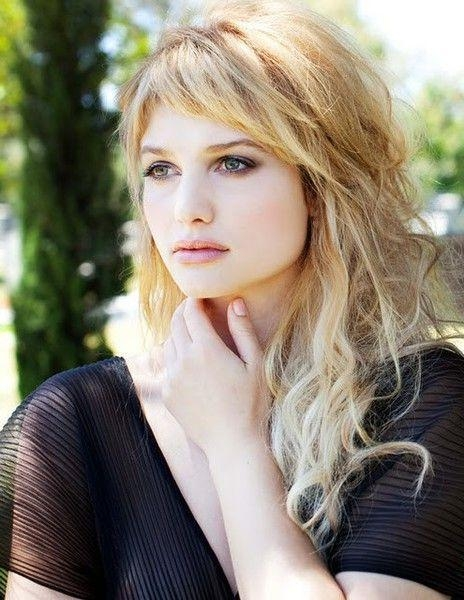 The 25+ Best Layered Hairstyles With Bangs Ideas On Pinterest In Long Hairstyles Layered With Fringe (View 15 of 15)