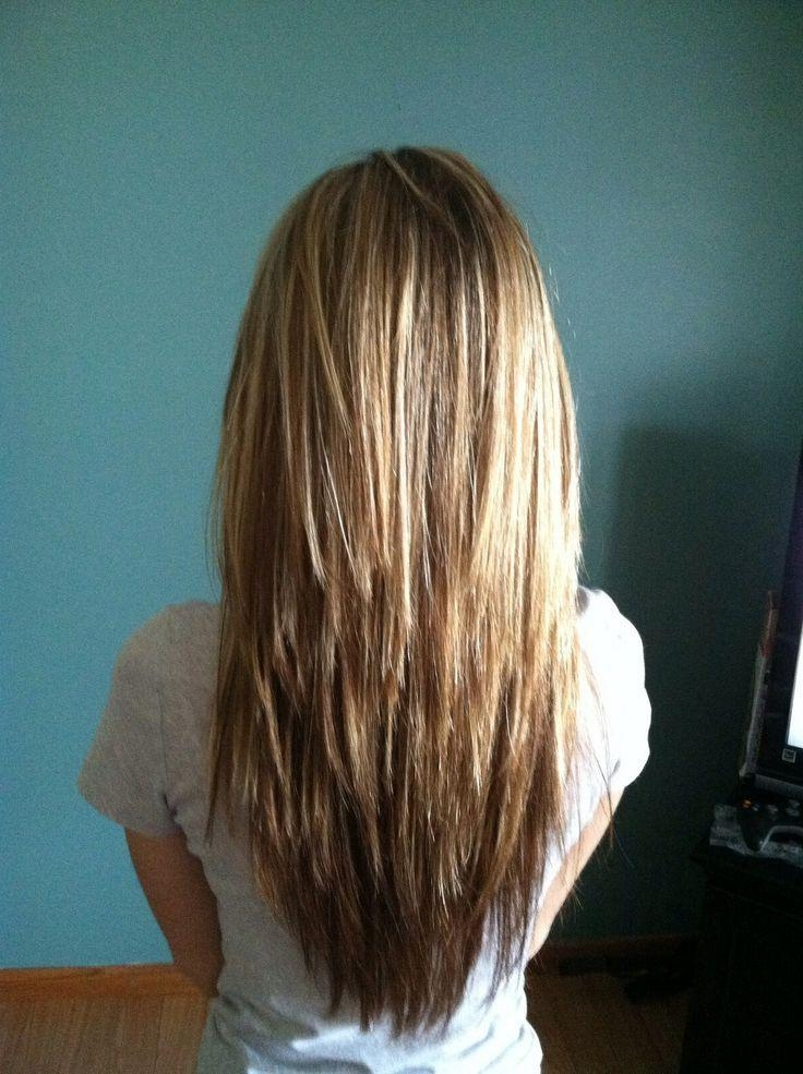 The 25+ Best Long Choppy Layers Ideas On Pinterest | Long Choppy For Long Hairstyles Choppy Layers (View 11 of 15)