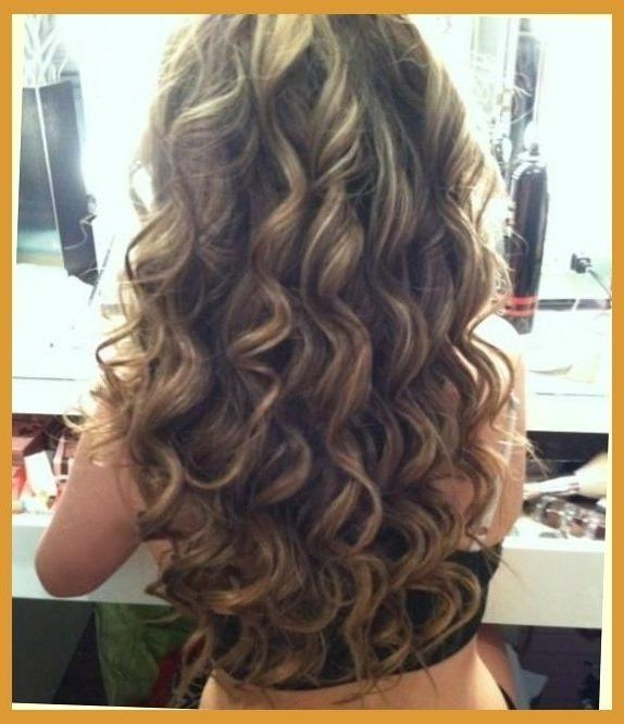 The 25+ Best Long Permed Hairstyles Ideas On Pinterest | Perms With Long Hairstyles Permed Hair (View 14 of 15)