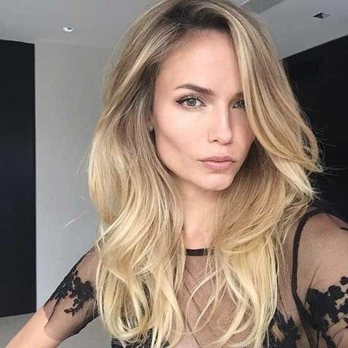 The 25+ Best Long Thick Hair Hairstyles Ideas On Pinterest Within Long Hairstyles Thick Hair (View 5 of 15)