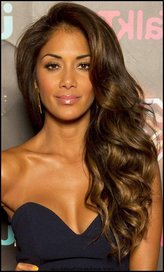 The 25+ Best Long Wavy Hairstyles Ideas On Pinterest | Medium Wavy Intended For Long Hairstyles Wavy (View 13 of 15)