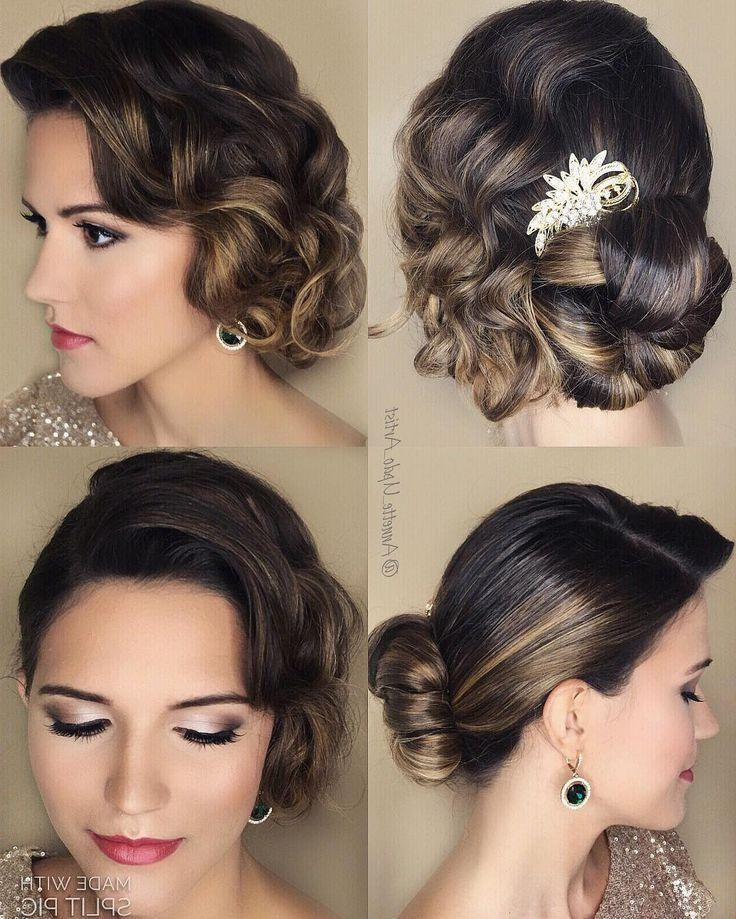 The 25+ Best Vintage Updo Ideas On Pinterest | Vintage Bridal Hair With Regard To Vintage Updos Hairstyles For Long Hair (View 12 of 15)