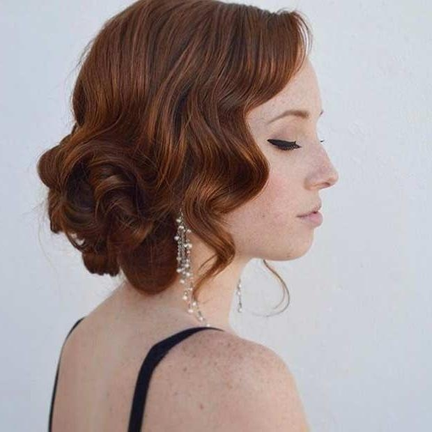 The 25+ Best Vintage Updo Ideas On Pinterest | Vintage Bridal Hair Within Vintage Updos Hairstyles For Long Hair (View 14 of 15)