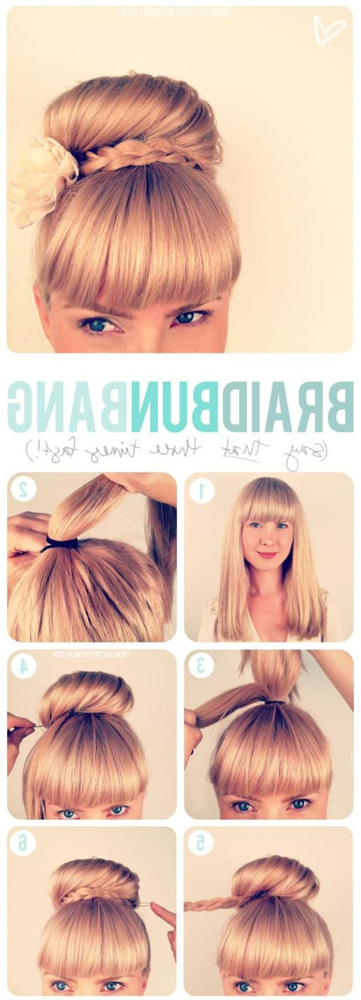 The Beauty Department: Your Daily Dose Of Pretty. – Updo + Bangs For Updo For Long Hair With Bangs (Gallery 15 of 15)