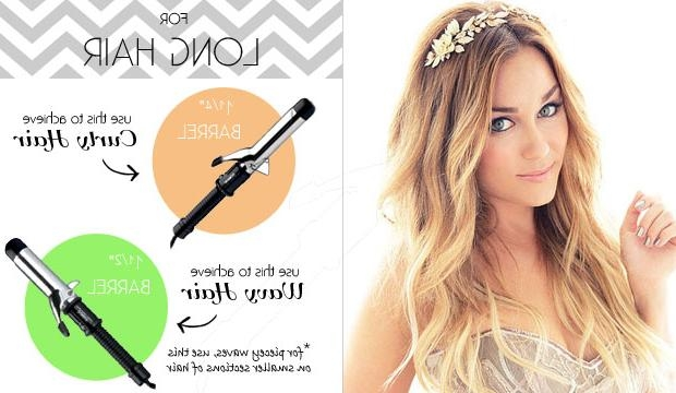 The Right Curling Iron For Your Hair Length With Regard To Curlers For Long Hair Thick Hair (View 4 of 15)