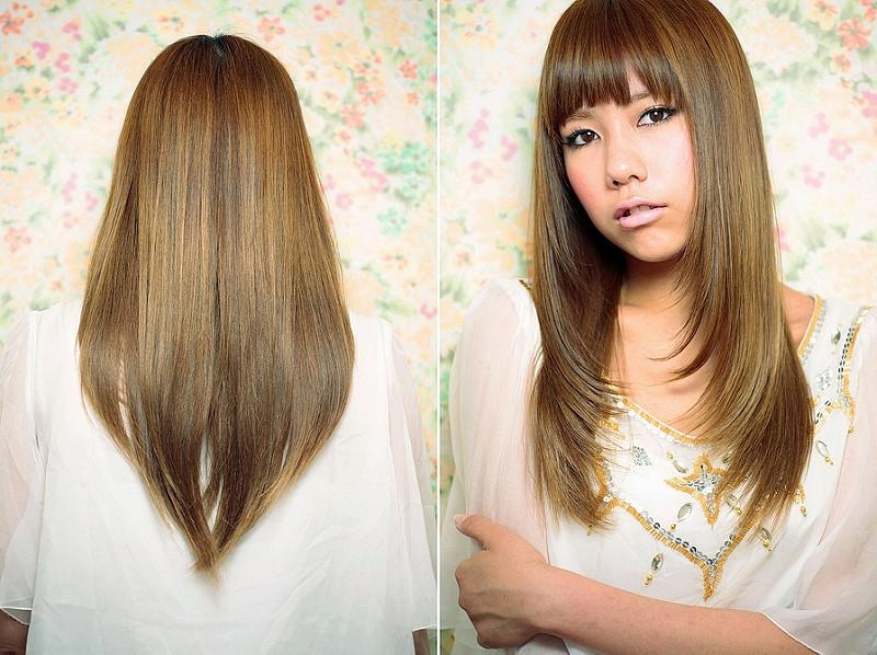 Thebunniehole | Vancouver Youtuber & Blogger: Hair Diary: Spring Throughout Japanese Long Hairstyles  (View 14 of 15)