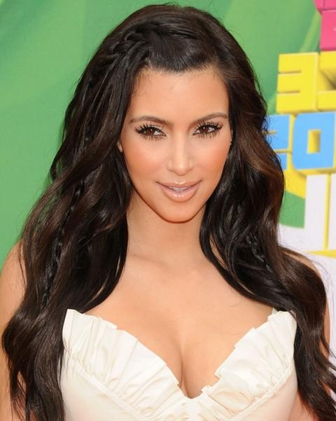 Top 15 Kim Kardashian Hairstyles – Kim Haircuts Pictures – Pretty Intended For Long Hairstyles Kim Kardashian (View 15 of 15)