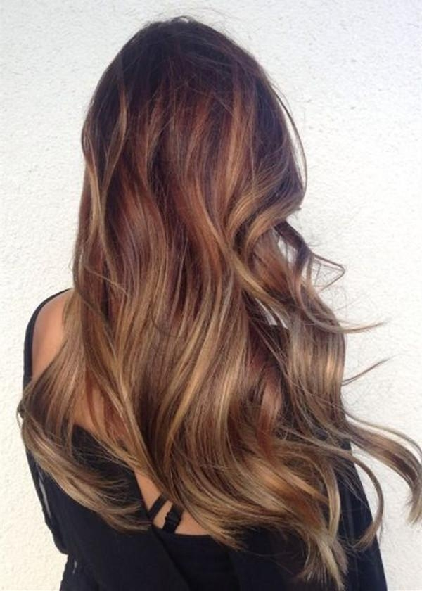 Top 20 Best Balayage Hairstyles For Natural Brown & Black Hair Intended For Long Hairstyles Balayage (View 7 of 15)