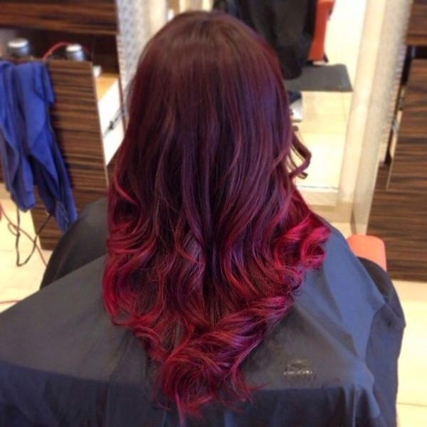 Top 20 Best Balayage Hairstyles For Natural Brown & Black Hair Intended For Long Hairstyles Red Ombre (View 12 of 15)