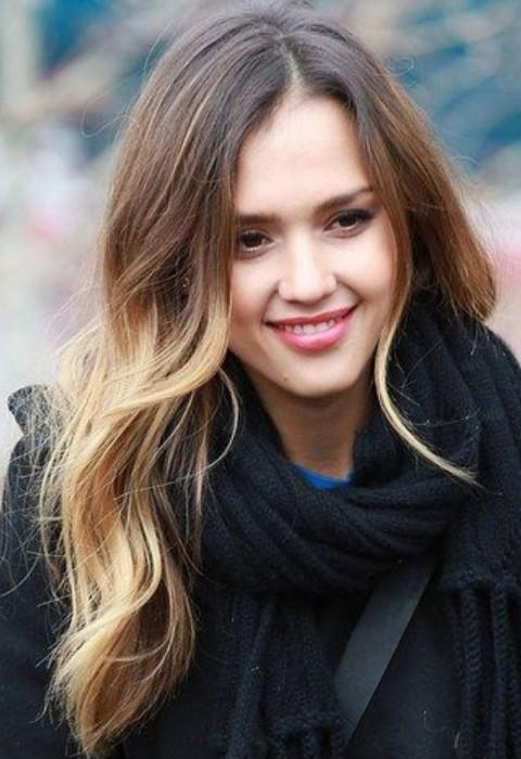 Top 21 Jessica Alba Hairstyles – Pretty Designs Pertaining To Long Hairstyles Loose Curls (View 13 of 15)