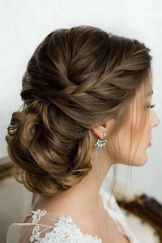 Top 25+ Best Bride Hairstyles Ideas On Pinterest | Elegant Wedding Pertaining To Long Hairstyles Updos For Wedding (View 7 of 15)