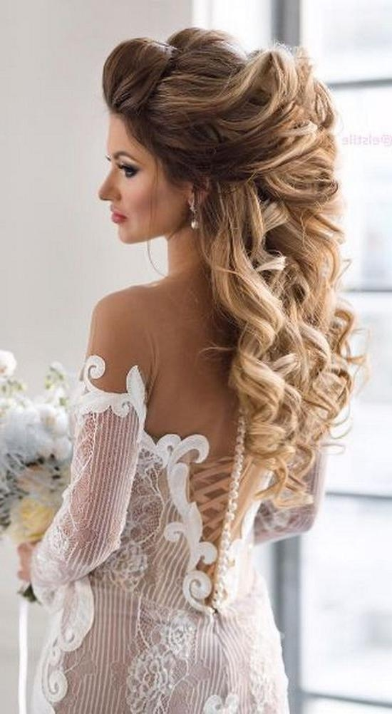 Top 25+ Best Bride Hairstyles Ideas On Pinterest | Elegant Wedding Throughout Long Hairstyles Wedding (View 15 of 15)