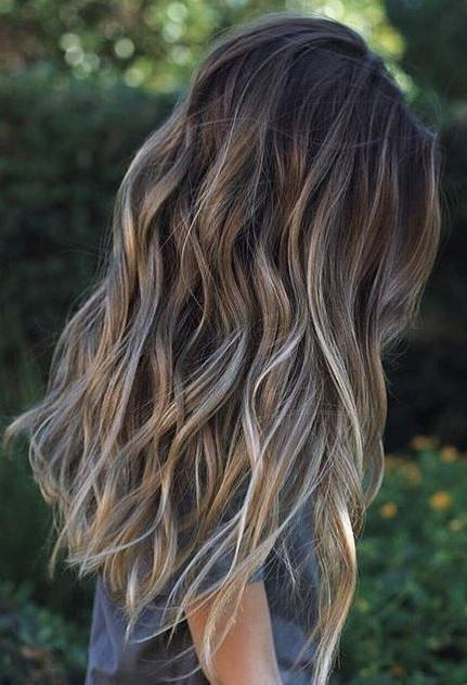 Top 25+ Best Cute Hair Colors Ideas On Pinterest | Cute Haircuts Within Long Hair Colors And Cuts (View 15 of 15)
