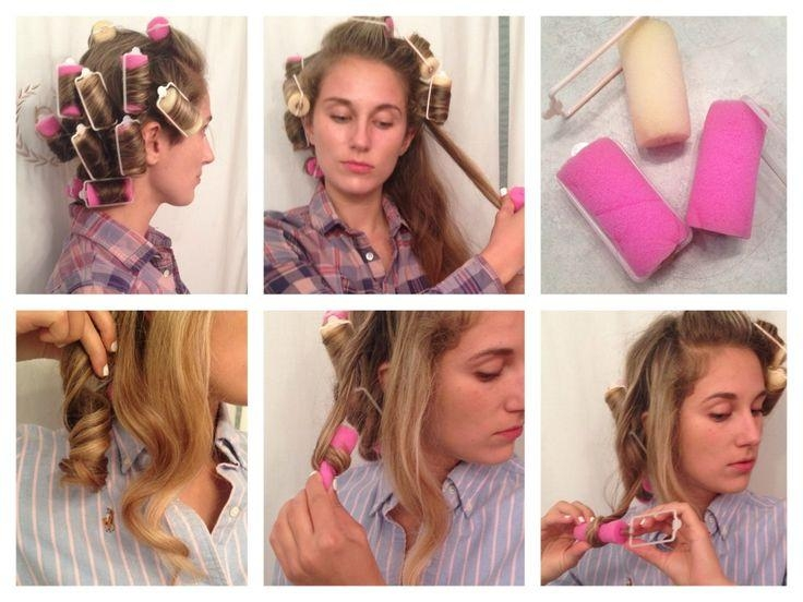 Top 25+ Best Foam Curlers Ideas On Pinterest | Sponge Curlers Within Curlers For Long Hair Thick Hair (View 14 of 15)
