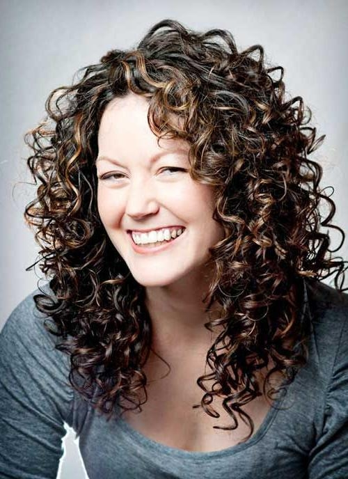 Top 25+ Best Layered Curly Hair Ideas On Pinterest | Curly Layers Inside Long Hairstyles For Curly Hair (View 10 of 15)