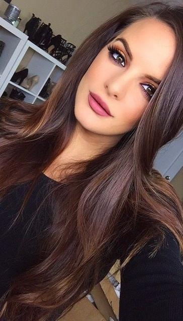 Top 25+ Best Long Fine Hair Ideas On Pinterest | Teased Bun Regarding Long Haircuts For Fine Hair And Long Face (Gallery 8 of 15)