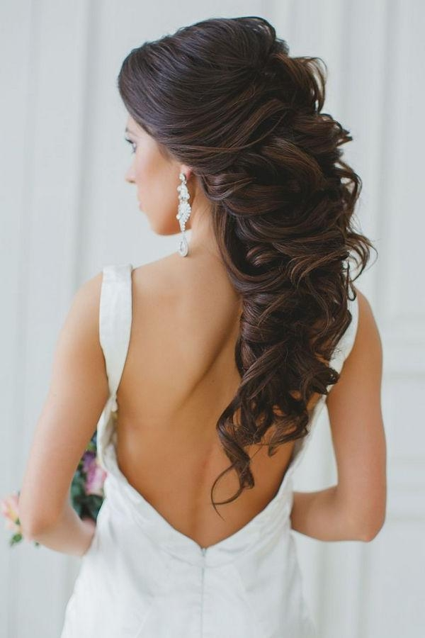 Top 25+ Best Long Hair Wedding Ideas On Pinterest | Long Hair Within Long Hairstyles Updos For Wedding (View 9 of 15)