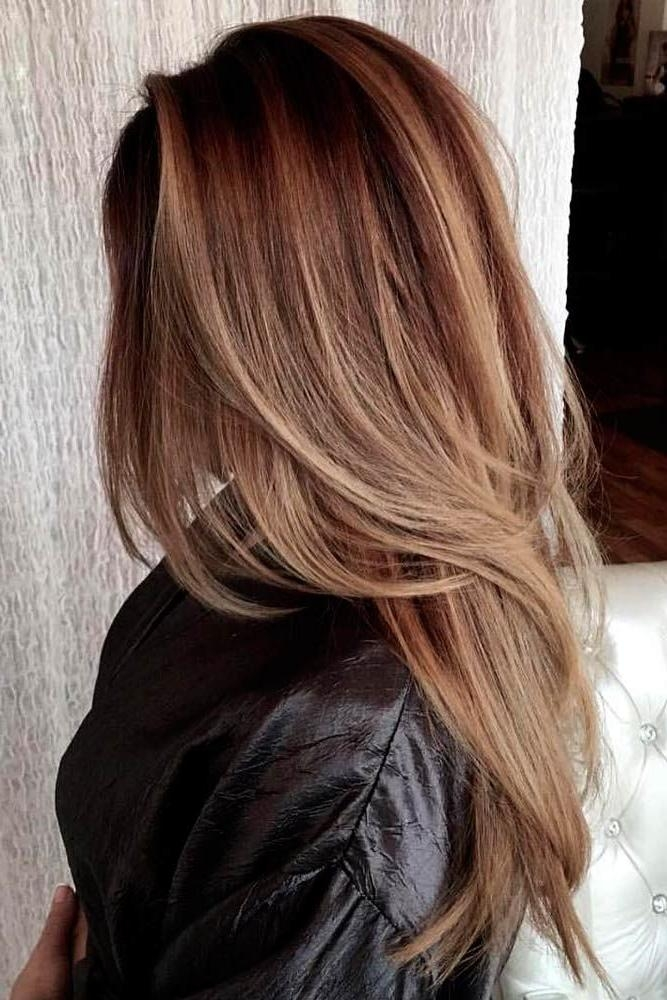 Top 25+ Best Long Layered Haircuts Ideas On Pinterest | Long Intended For Long Hairstyles Layered In Front (View 12 of 15)