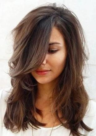 Top 25+ Best Long Layered Haircuts Ideas On Pinterest | Long Throughout Long Hairstyles And Cuts (View 14 of 15)