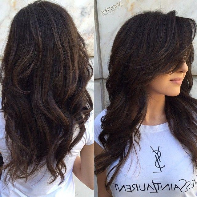 Top 25+ Best Long Layered Haircuts Ideas On Pinterest | Long Within Long Layers Thick Hair (View 13 of 15)