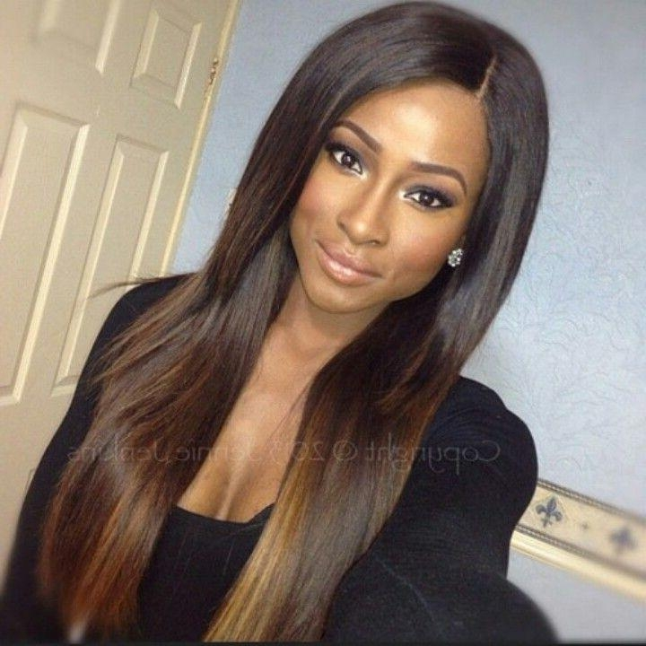 Top 25+ Best Long Straight Weave Ideas On Pinterest | Sew In Weave With Regard To Long Weave Hairstyles (View 15 of 15)