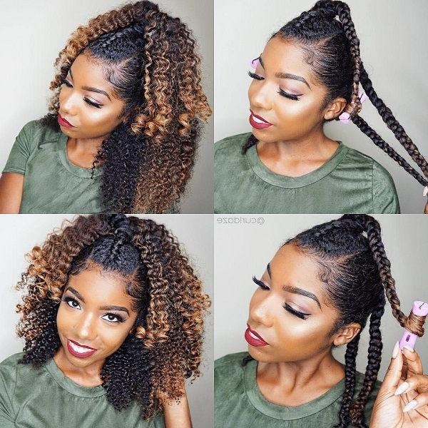 Top 25+ Best Natural Hairstyles Ideas On Pinterest | Simple With Regard To Long Hairstyles Natural (View 4 of 15)