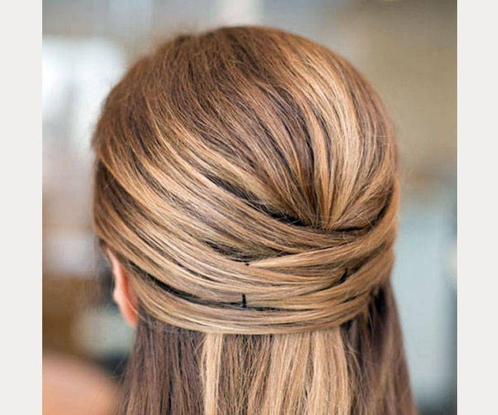 Top 25+ Best Straight Wedding Hair Ideas On Pinterest   Simple For Long Hairstyles Down Straight (View 15 of 15)